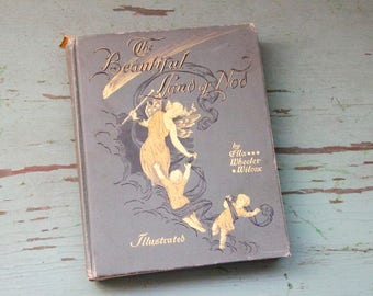 Victorian The Beautiful Land of Nod Book - 1892 Antique - By Ella Wheeler Wilcox