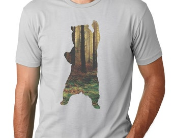 Bear T-Shirt | Men's Graphic T Shirts | Mens Tshirt | Tshirts By Artisan Tees | Gifts for him | papa bear t-shirt | Bear shirt | Graphic Tee