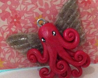 Angel Octopus Necklace