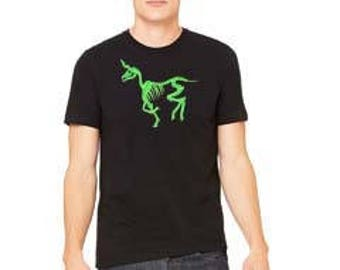 Death Unicorn v-neck Shirt