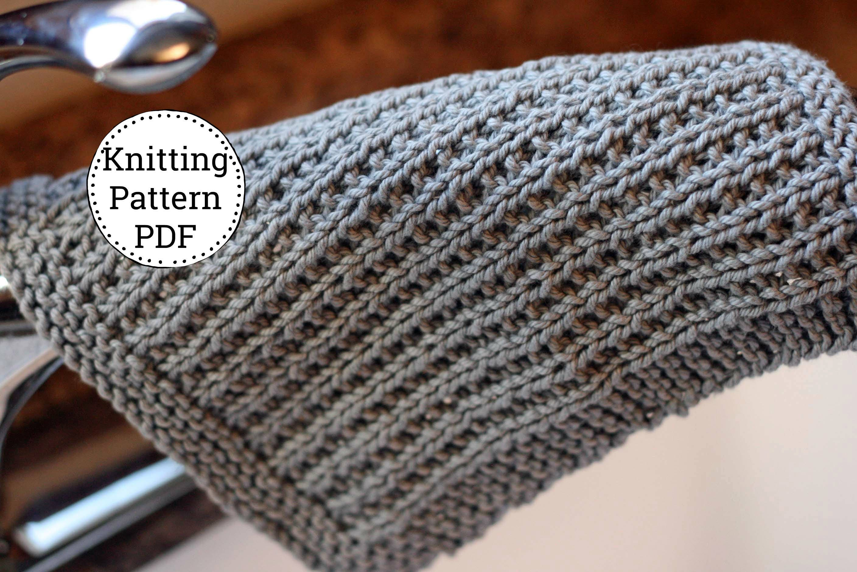 Knit Dishcloth Pattern, Dishcloth Pattern, Knitting Pattern ...