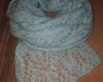 Beautiful mohair scarf
