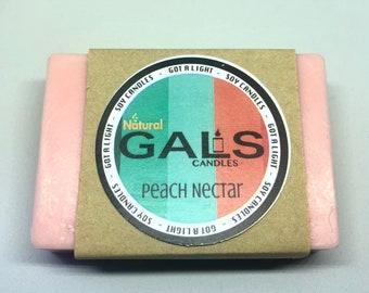 Peach Nectar Goat Milk Bar Soap Organic Natural
