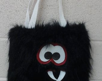 Small Black Monster Bag