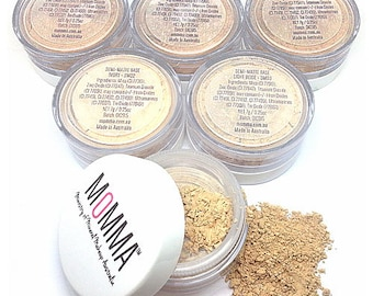 MOMMA Semi-Matte Mineral Foundation SPF20+ Vegan Chemical Free