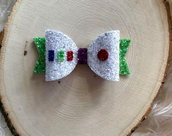 Disney Toy Story Inspired Buzz Lightyear Hair Bow, Buzz Lightyear Hair Clip, Buzz Lightyear Headband, Toy Story