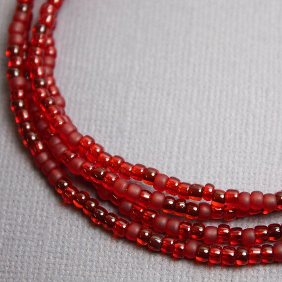 making htm for necklace bead catalog tooth shark beads jewelry red