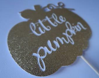 Little Pumpkin Centerpiece/Cake Topper