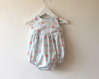 Baby girl romper Easter romper baby shower gift first birthday