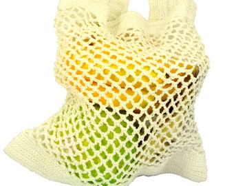 A string bag, avoska, farmers market bag, mesh bag, made in Russia