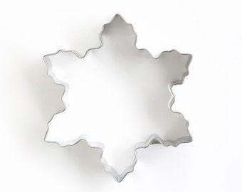Snowflake Cookie Cutter, Frozen Cookie Cutter, Christmas Cookie Cutter, Winter Snowflake Cookie Cutter
