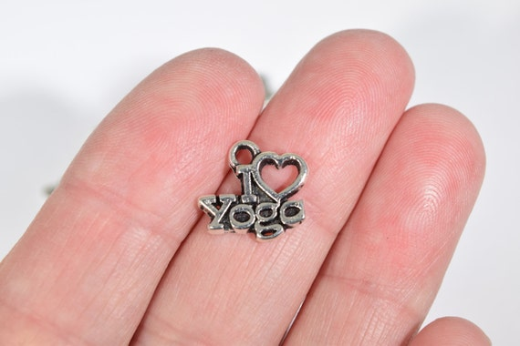 10 i love yoga charms silver yoga charms meditation charms 10 i love yoga charms silver yoga charms meditation charms yoga pendants i heart yoga charms spiritual charms sc1201 from enchantedcharmsetc on mozeypictures Images