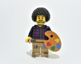 Custom Bob Ross Minifigure
