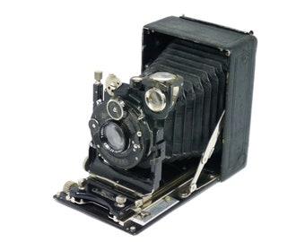 Certo Certotrop 6.5x9 plate camera circa 1931 with Zeiss Tessar lens