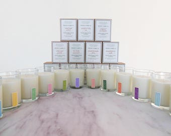 12 bulk candles for resale   wholesale natural candles of coconut soy wax & artisan fragrance in 8 oz jar   appalachian made