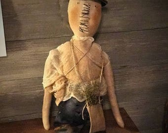 Primitive Fall Halloween witch Ready to ship