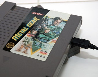 NES Hard Drive - Metal Gear - USB 3.0