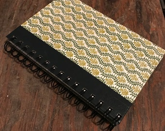 Blank Journal made from vintage book