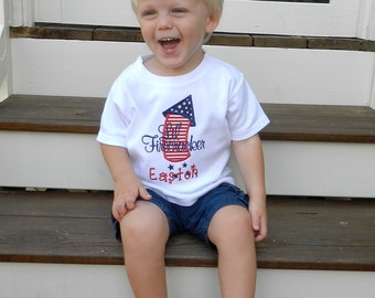 Lil' Firecracker Shirt / Personalized / Independence Day / 4th of July / Patriotic