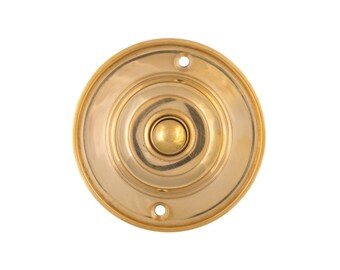 Classic Round Doorbell Button Electric