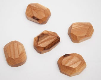 Berest Wood Magnets for the refrigerator Wooden Magnets Berest Magnets for metal surfaces Magnets Hostess Gift