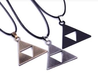 Legend of Zelda Triforce Necklace • Triforce• Legend of Zelda Charm • Triforce Charm