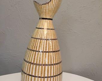 Mid Century Modern Raymor Italian huge Vase Lamp Base