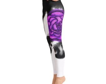 Flower Bud Yoga Pants