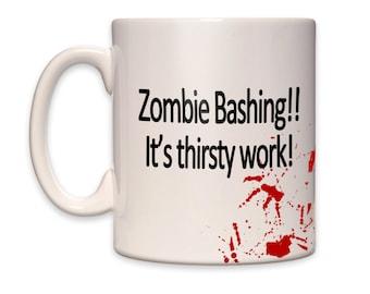 Zombie Bashing Mug