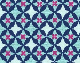 Wove is Me (Aqua) - Wove It or Weave It - Michael Miller Fabrics - 1 Yard