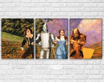 Wizard of Oz  3 Piece Canvas Set