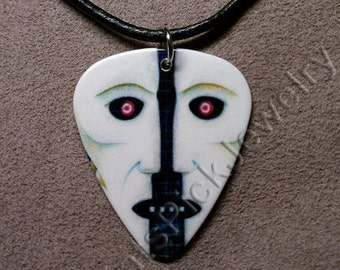 Pink Floyd Division Bell LP Album Cover Art Guitar Pick Necklace