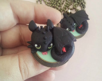 Small Desdentao / Toothless necklace