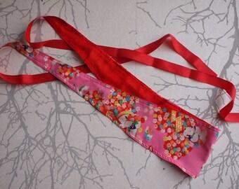 Made to order: adjustable obi belt, huge choice of fabrics