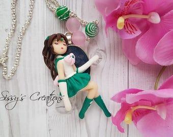 Necklace Sailor Jupiter, Necklace Sailor Moon, Necklace Sailor, Necklace Anime, Necklace Cartoon, Necklace Woman, Necklace Kawaii,
