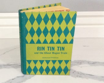 Rin TIn Tin and the Ghost Wagon Train 1958 Good Condition - Cole Fannin
