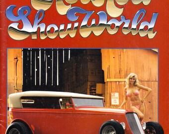 Man Cave, 1985 Hot Rod Show World Magazine, Car Enthusiast, Automotive, Street Rod, Muscle Cars, Sexy Bikini Clad Babes, Men's Interest
