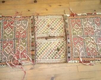 Etsy's 13th Birthday Sales Anatolian kilim saddlebag 136x57 cm