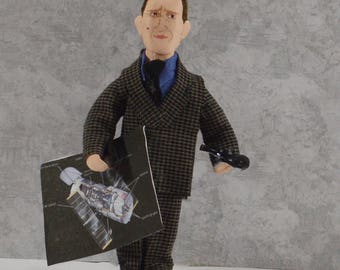 Edwin Hubble Scientist Astronomy Science Miniature Art Doll Hubbles Law