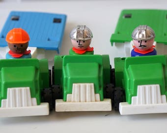 Fisher Price Flat Bed Construction Vehicles