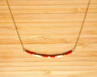 Ola coral necklace