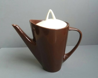 Chocolate Brown Teapot '50