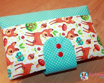 Nappy Wallet (colorful animals)