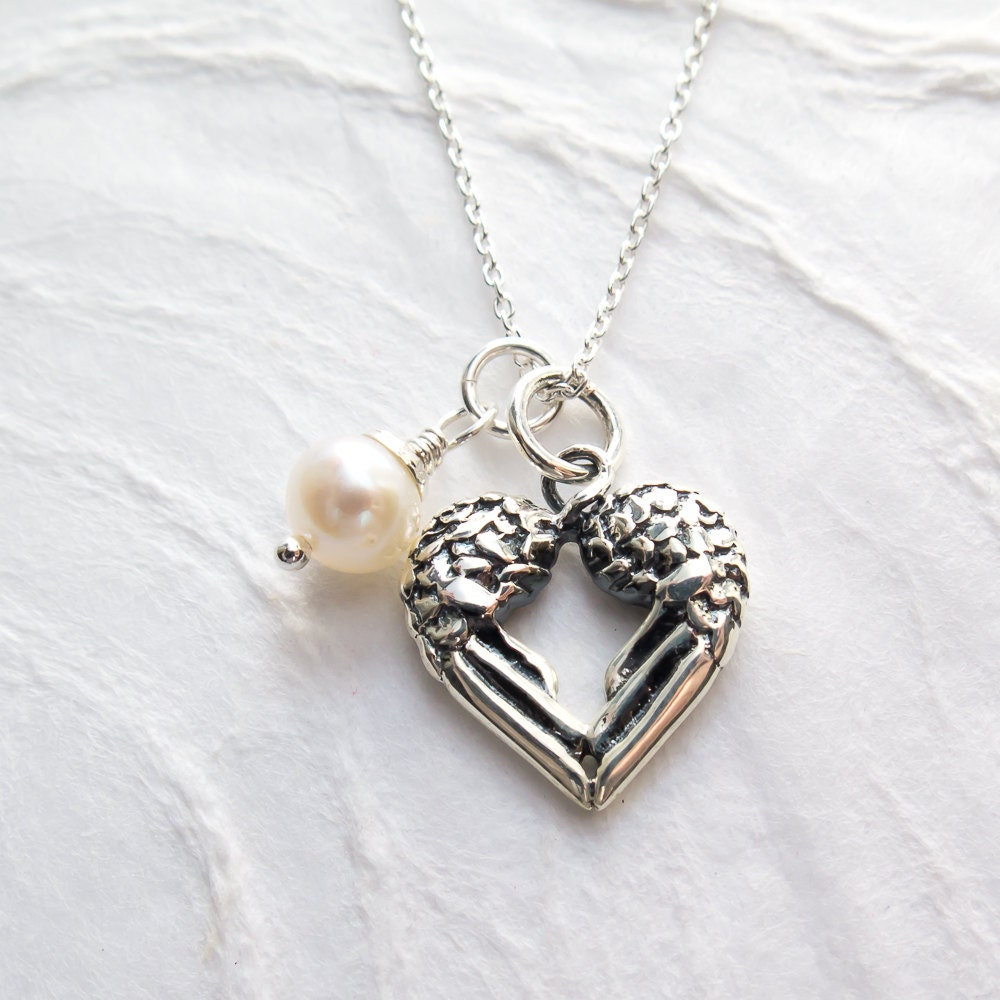 heartbeat fullxfull listing zoom il actual ekg baby miscarriage necklace