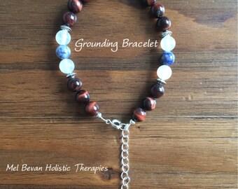 Grounding Gemstone Bracelet