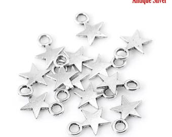 50 pendants charm star no. 1