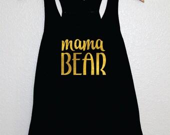 Mama Bear Shirt, Mama Bear Tank, Preggers Tank, Mama Bear Maternity Shirt, Baby Bump Shirt, Pregnancy Shirt, Maternity Tank