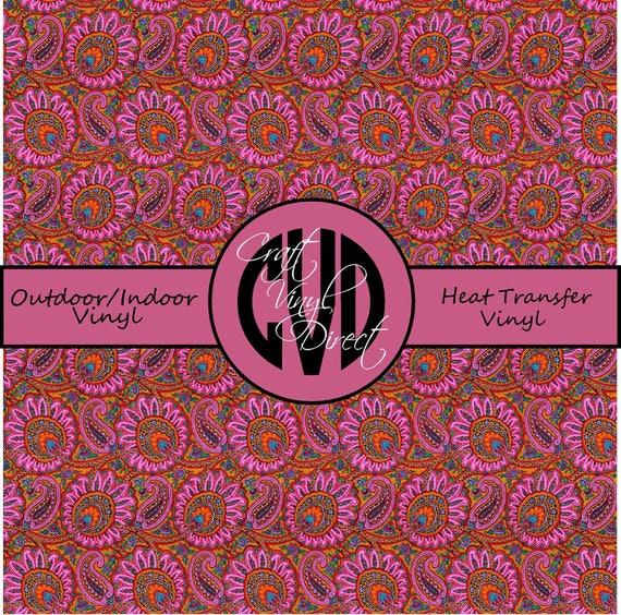 Beautiful Patterned Vinyl // Patterned / Printed Vinyl // Outdoor and Heat Transfer Vinyl // Pattern 317