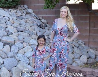 Mommy and Me Dress - Mother Daughter Matching Dresses - Matching Outfits - Family Matching Outfits