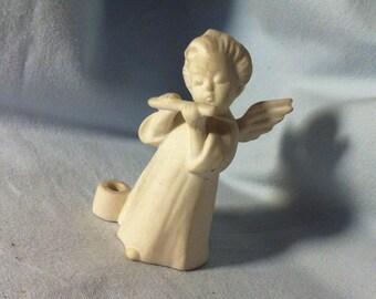 Vintage ceramic angel decoration object beautiful